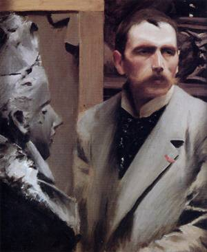 Self Portrait  1889 | Anders Zorn | Oil Painting