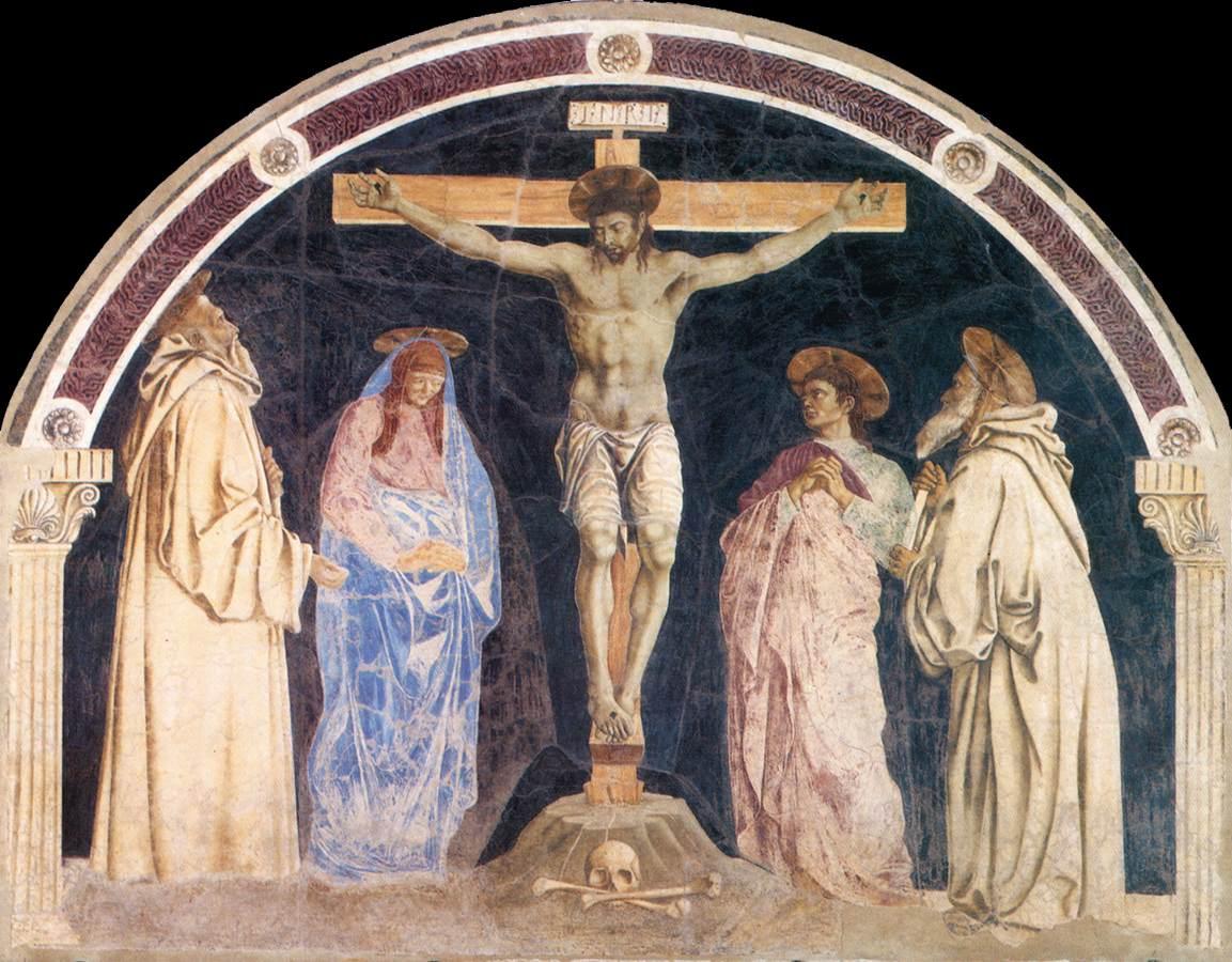 Crucifixion2 | Andrea Del Castagno | Oil Painting