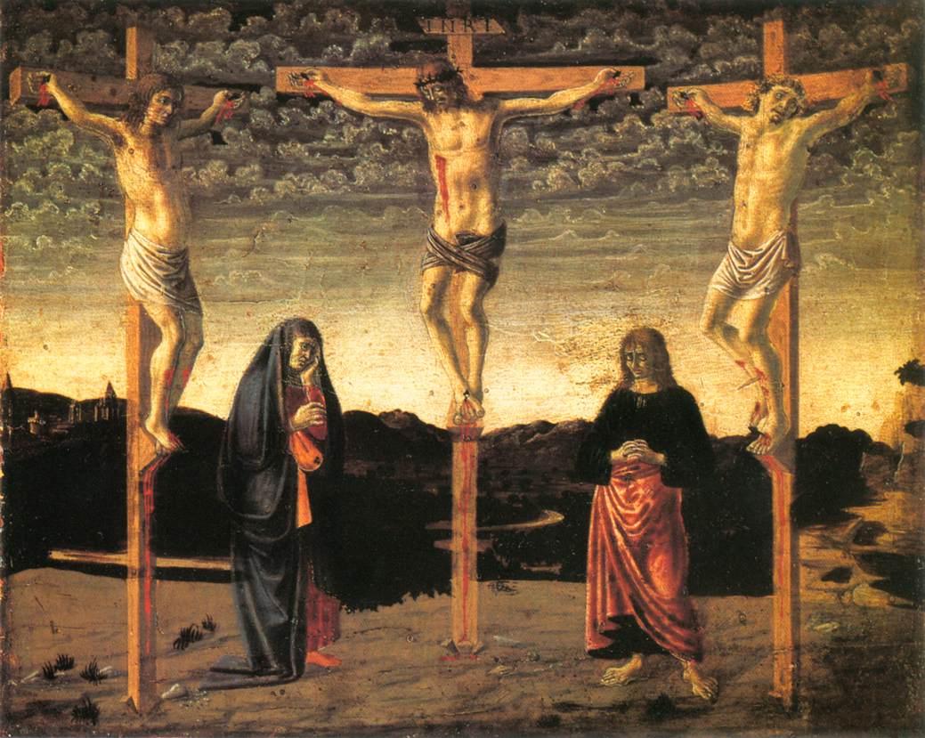 Crucifixion | Andrea Del Castagno | Oil Painting