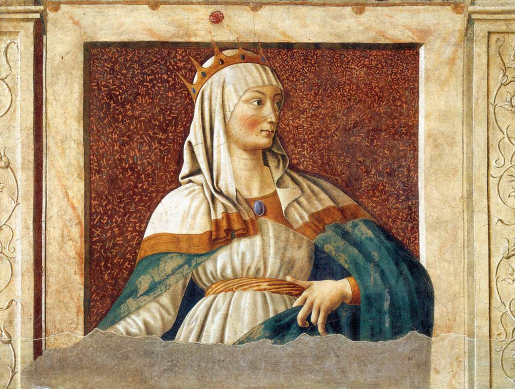 Famous Persons Queen Esther | Andrea Del Castagno | Oil Painting