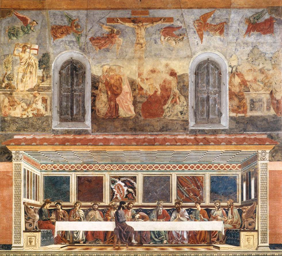 Last Supper and Stories of Christs Passion | Andrea Del Castagno | Oil Painting