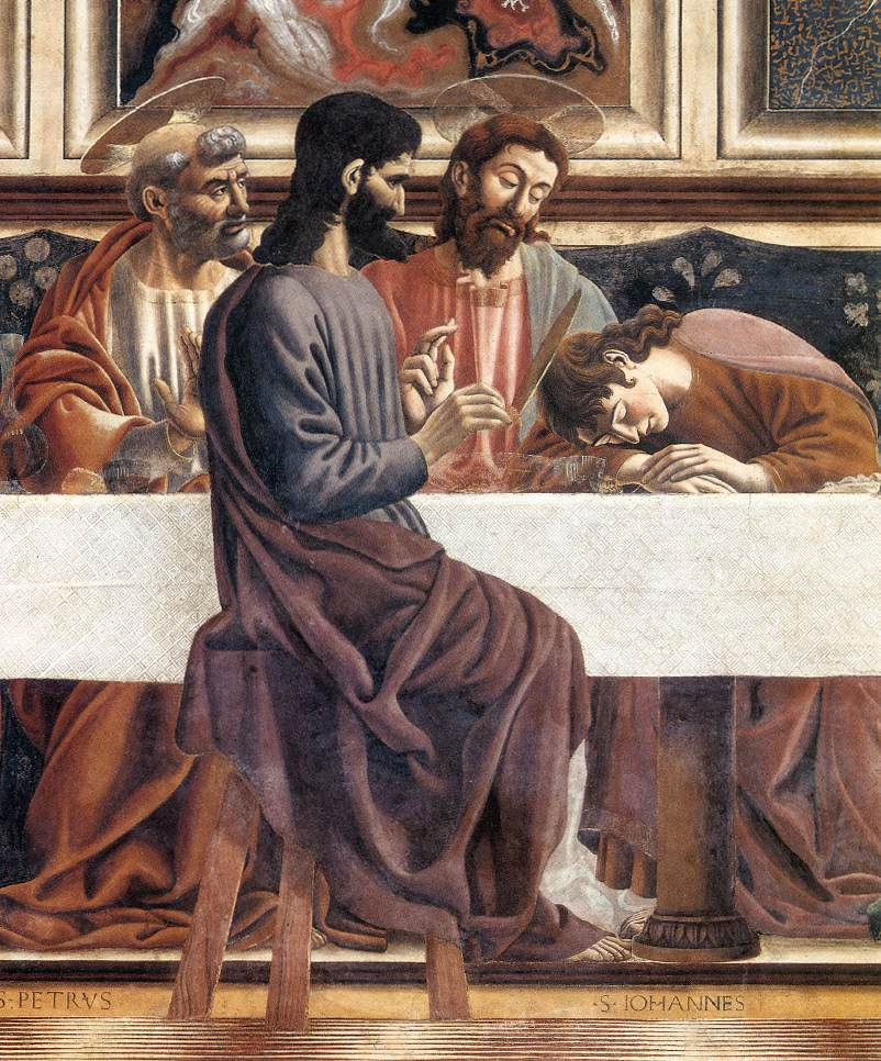 Last Supper detail2 | Andrea Del Castagno | Oil Painting