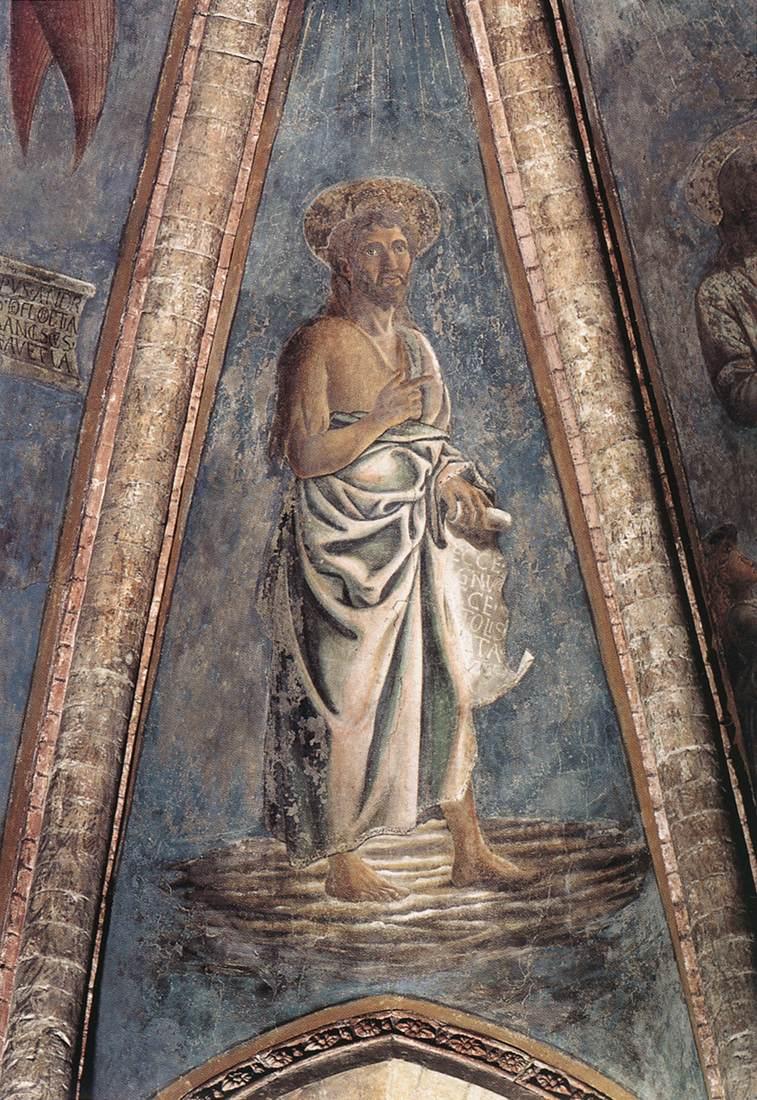 St John the Baptist | Andrea Del Castagno | Oil Painting