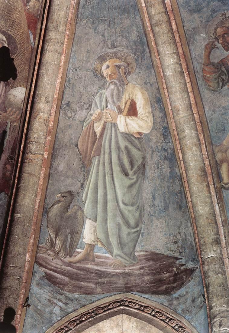 St John the Evangelist | Andrea Del Castagno | Oil Painting