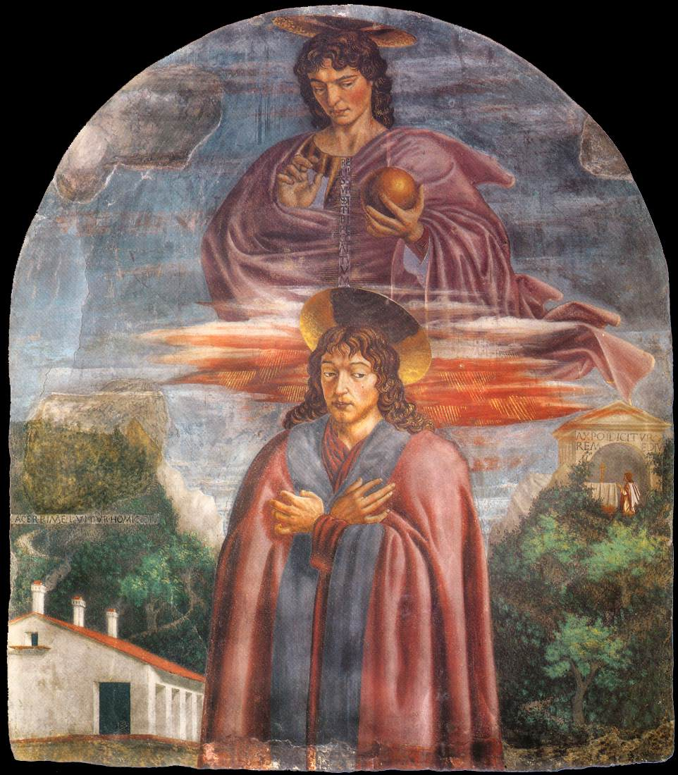 St Julian and the Redeemer | Andrea Del Castagno | Oil Painting