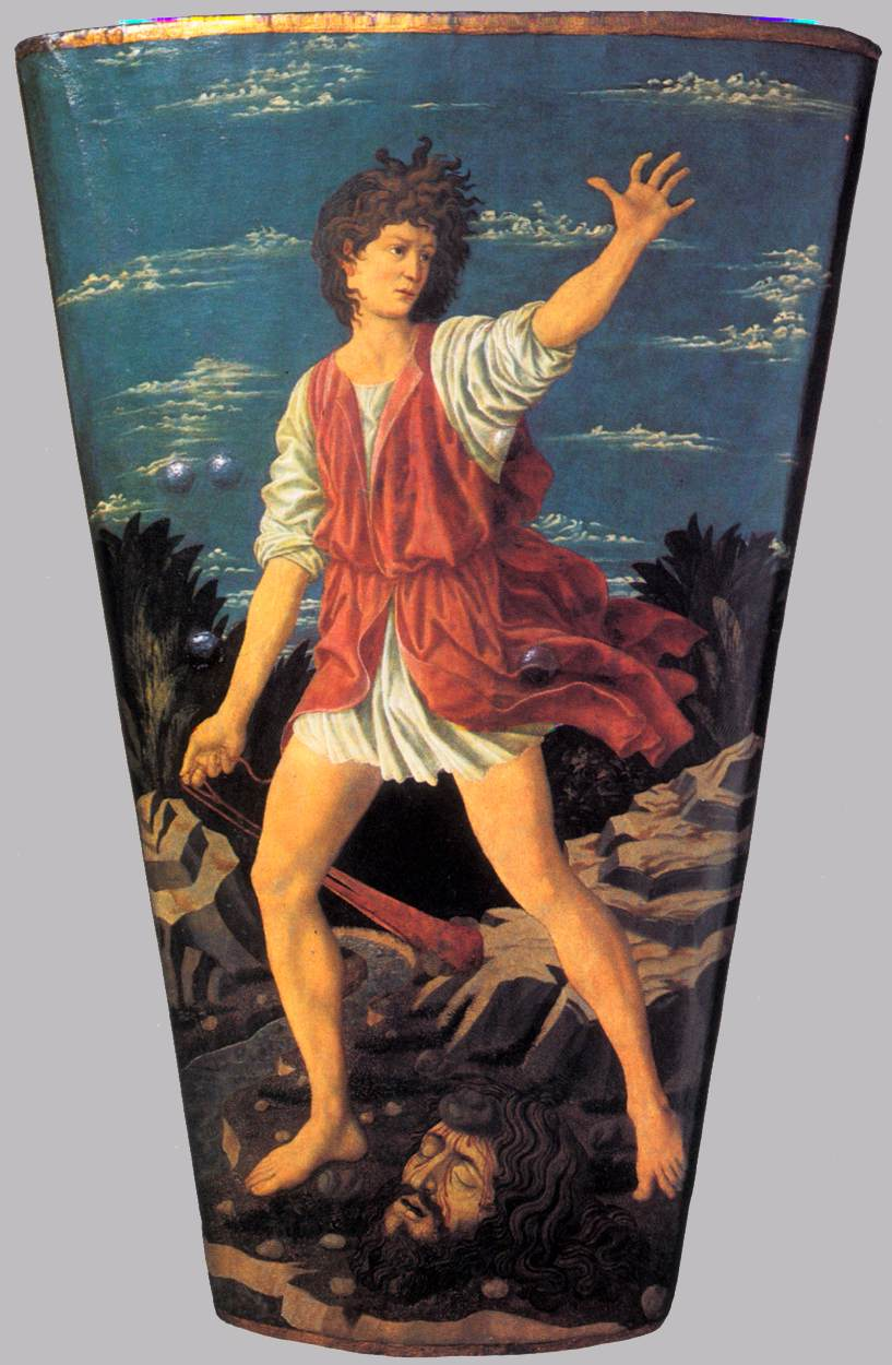 The Youthful David | Andrea Del Castagno | Oil Painting
