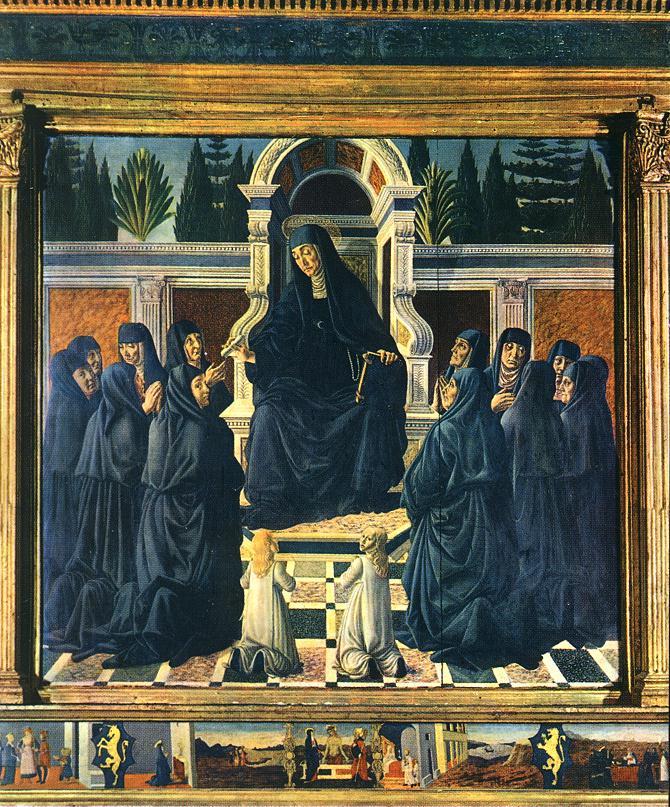 Saint Monica | Andrea Del Verrocchio | Oil Painting