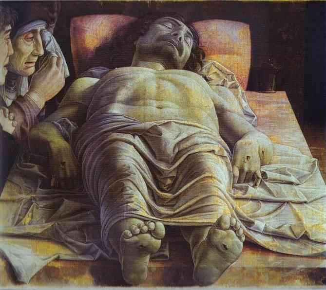 Dead Christ 1500 | Andrea Mantegna | Oil Painting