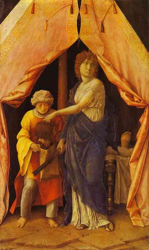 Judith And Holofernes 1495 | Andrea Mantegna | Oil Painting