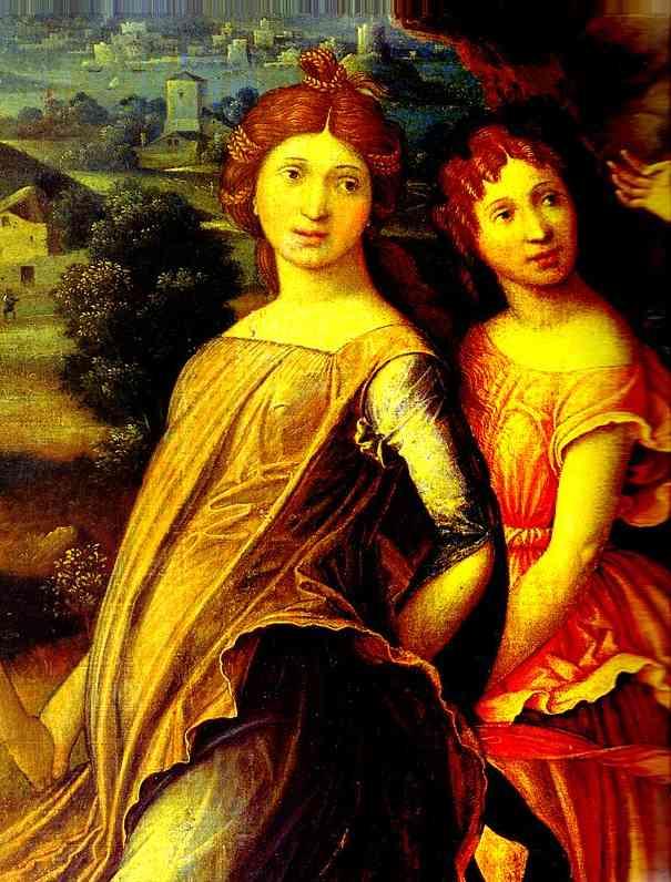 Mars And Vernus Known As Parnassus Detail 1 Louvre Paris France | Andrea Mantegna | Oil Painting