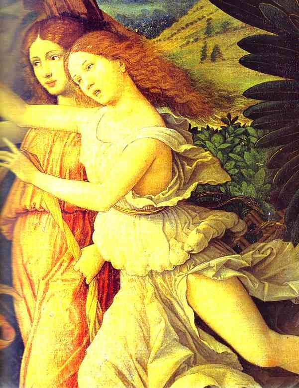 Mars And Vernus Known As Parnassus Detail 2 Louvre Paris France | Andrea Mantegna | Oil Painting