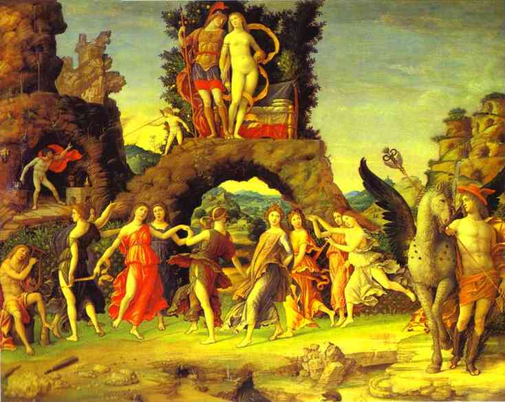 Mars And Vernus Known As Parnassus | Andrea Mantegna | Oil Painting