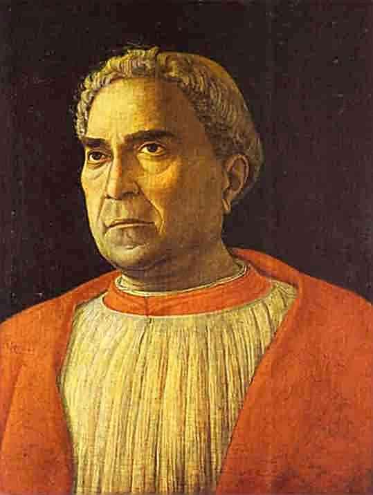 Portrait Of Cardinal Lodovico Trevisano 1459-1469 | Andrea Mantegna | Oil Painting