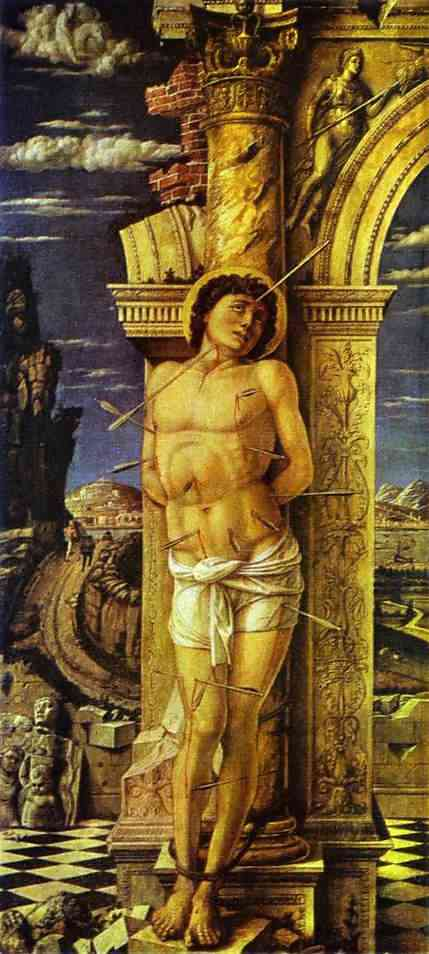 St Sebastian 1459 | Andrea Mantegna | Oil Painting