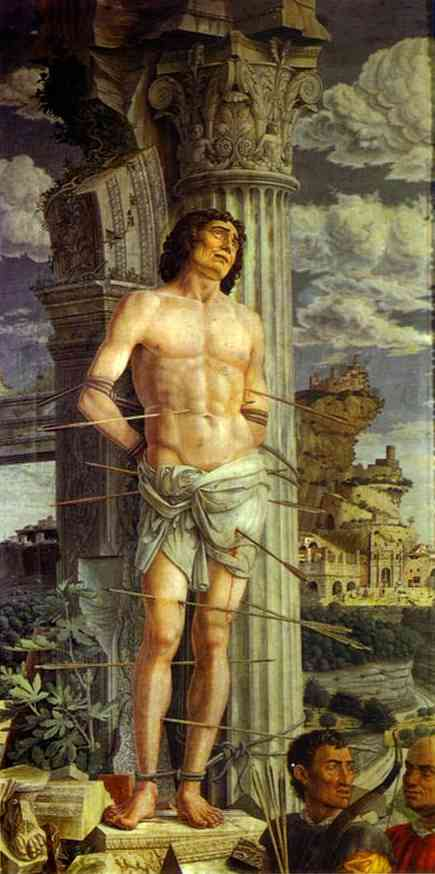 St Sebastian 1480 | Andrea Mantegna | Oil Painting