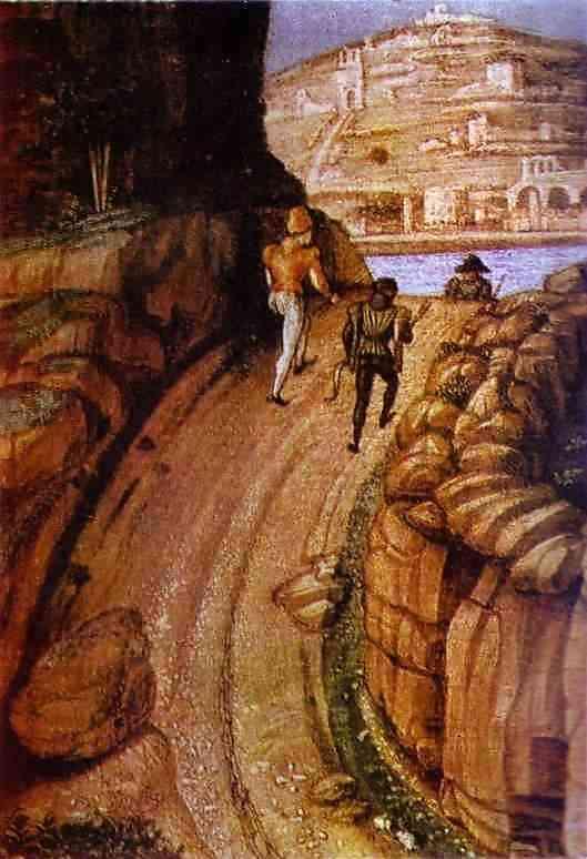 St Sebastian Detail 1459 | Andrea Mantegna | Oil Painting