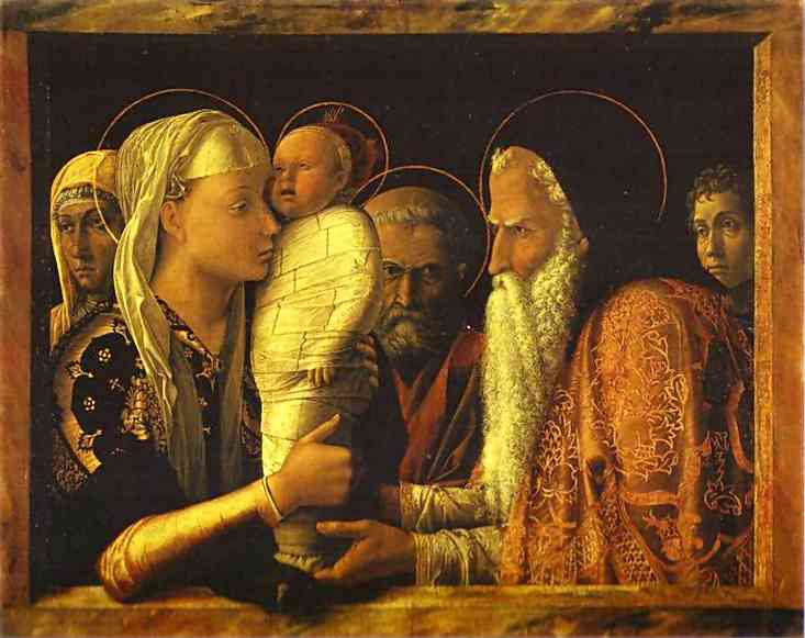 The Presentation In The Temple 1465-66 | Andrea Mantegna | Oil Painting