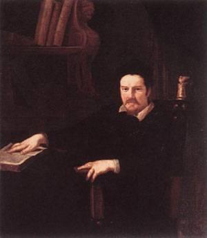 Portrait Of Monsignor Clemente Merlini 1630   Andrea Sacchi   Oil Painting