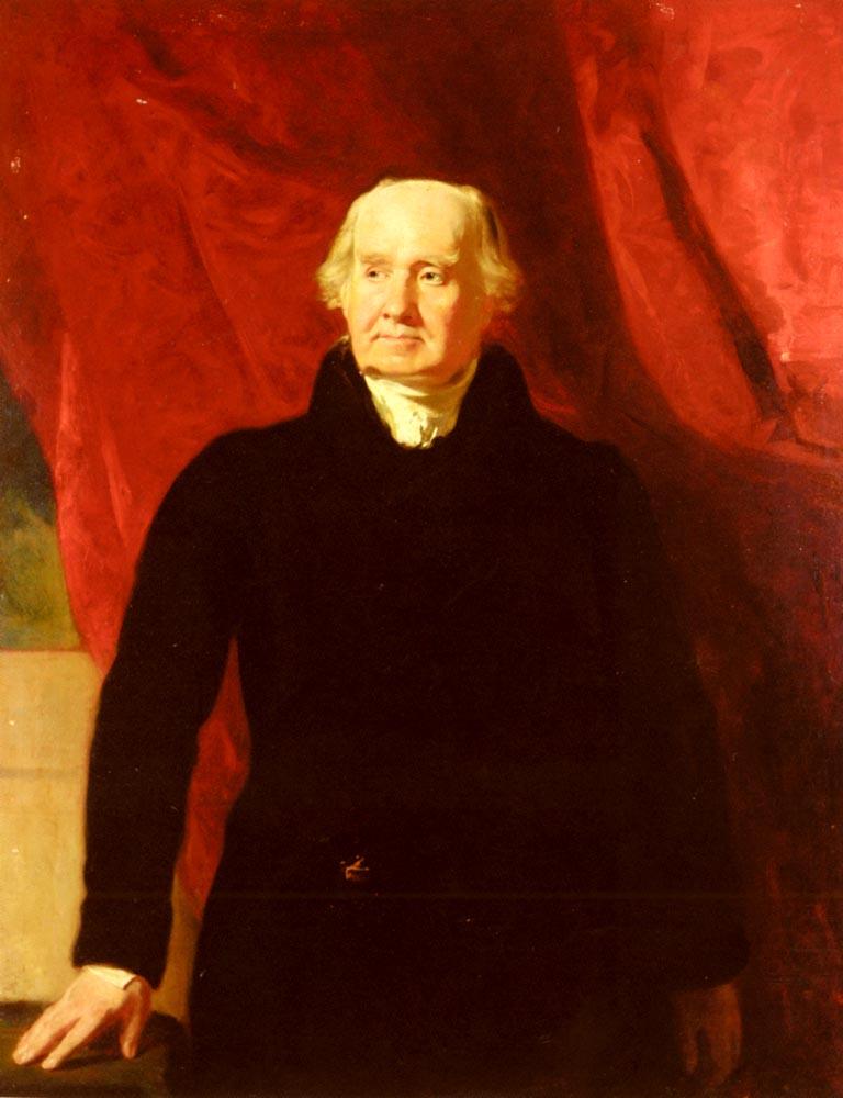 Portrait Of Sir John Marjoribanks (1763-1833) | Andrew Geddes | Oil Painting