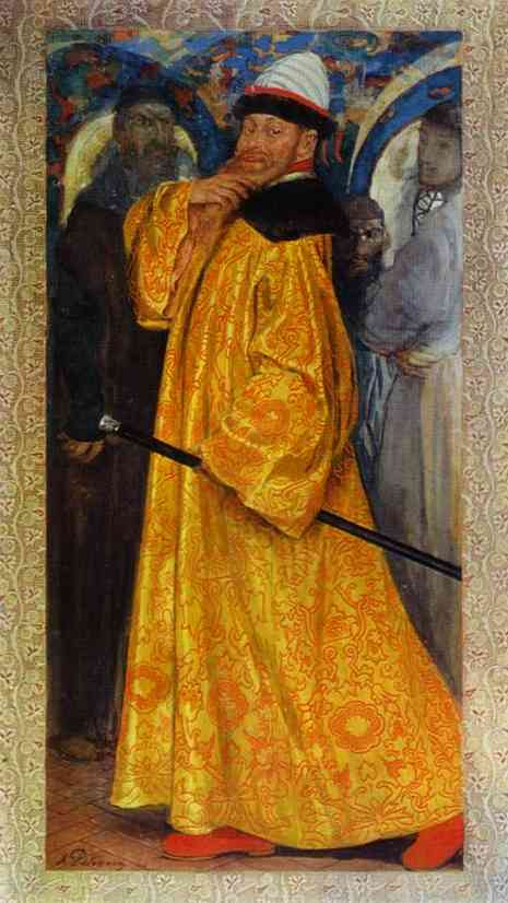 Presented With The Tzars Own Fur Lined Robe 1902 | Andrey Ryabushkin | Oil Painting
