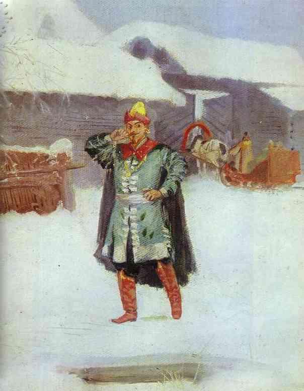 Sunday 2 1889 | Andrey Ryabushkin | Oil Painting