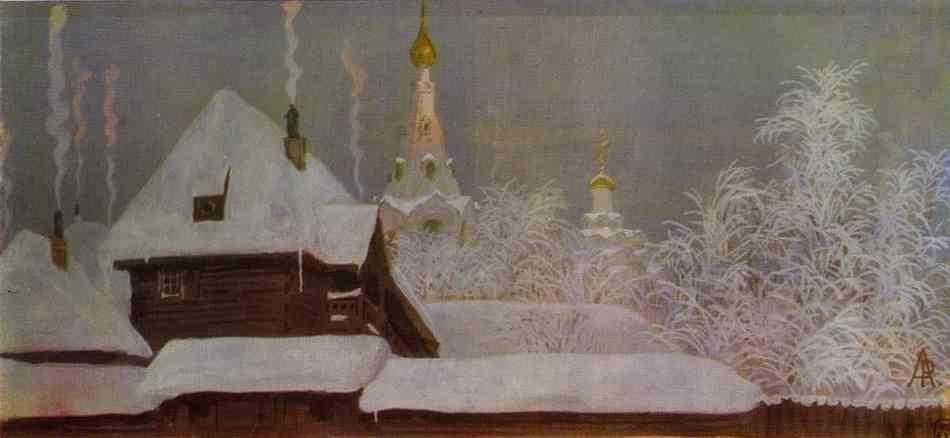 Winter Morning 1903 | Andrey Ryabushkin | Oil Painting