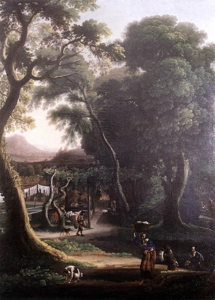 Rural Scene 1640s | Angeluccio | Oil Painting