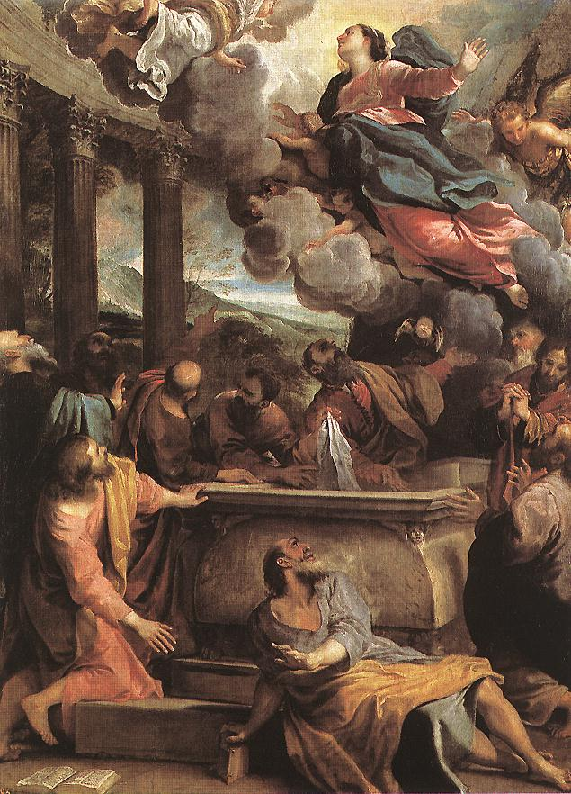Assumption Of The Virgin 1590 | Annibale Carracci | Oil Painting