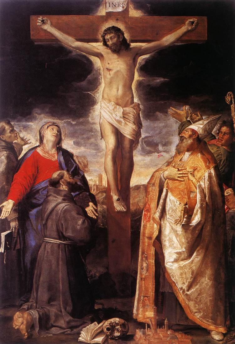 Crucifixion 1583 | Annibale Carracci | Oil Painting