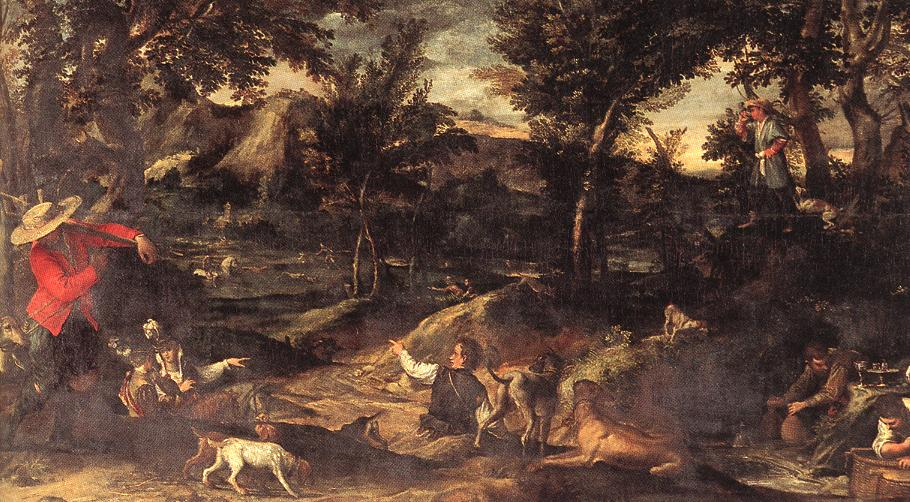 Hunting Before 1595 | Annibale Carracci | Oil Painting