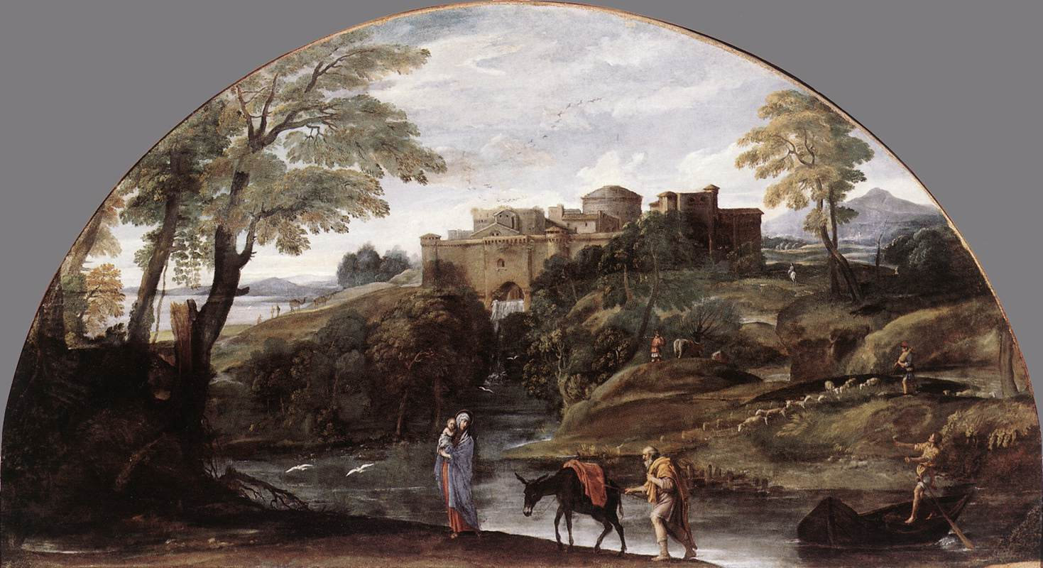 The Flight Into Egypt 1603 | Annibale Carracci | Oil Painting