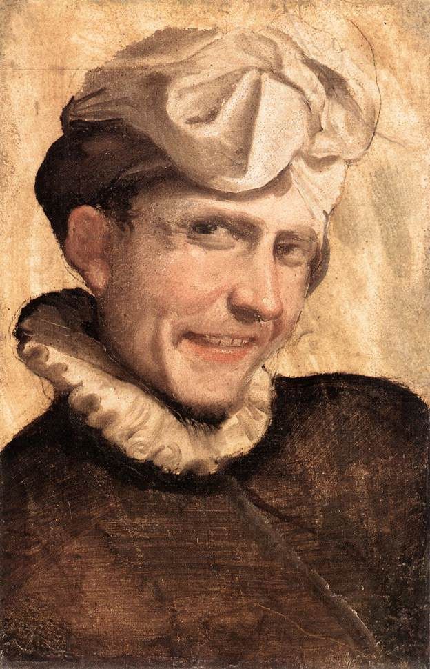 The Laughing Youth 1583 | Annibale Carracci | Oil Painting