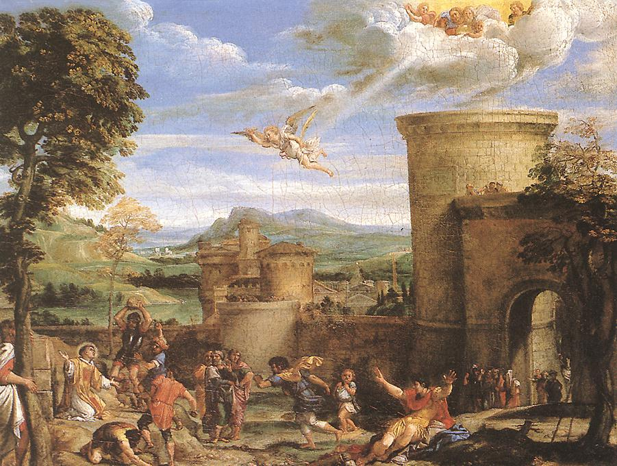 The Martyrdom Of St Stephen 1603-04 | Annibale Carracci | Oil Painting
