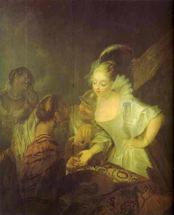 Fortune Teller 1710 | Antoine Pesne | Oil Painting