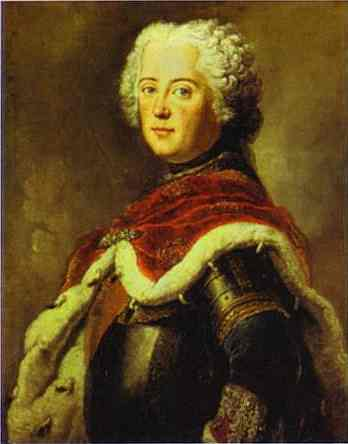 Frederick The Great As Crown Prince 1739 | Antoine Pesne | Oil Painting