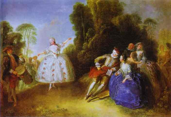 Marianne Cochois 1750 | Antoine Pesne | Oil Painting