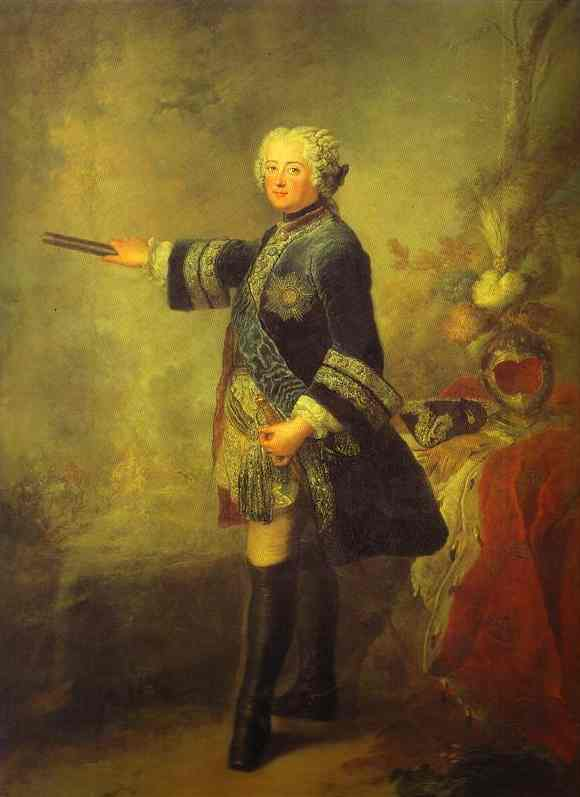 Portrait Of Frederick II 1743 | Antoine Pesne | Oil Painting