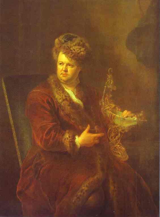 Portrait Of Johann Melhior Dinglinger 1721 | Antoine Pesne | Oil Painting