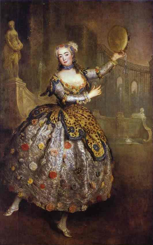The Dancer Barbara Campanini Called Barbarina 1745 | Antoine Pesne | Oil Painting
