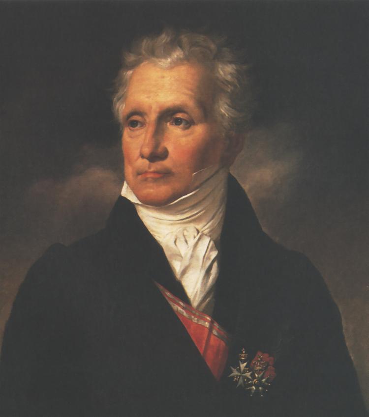 Portrait of Aleksander Batowski   Antoni Brodowski   Oil Painting