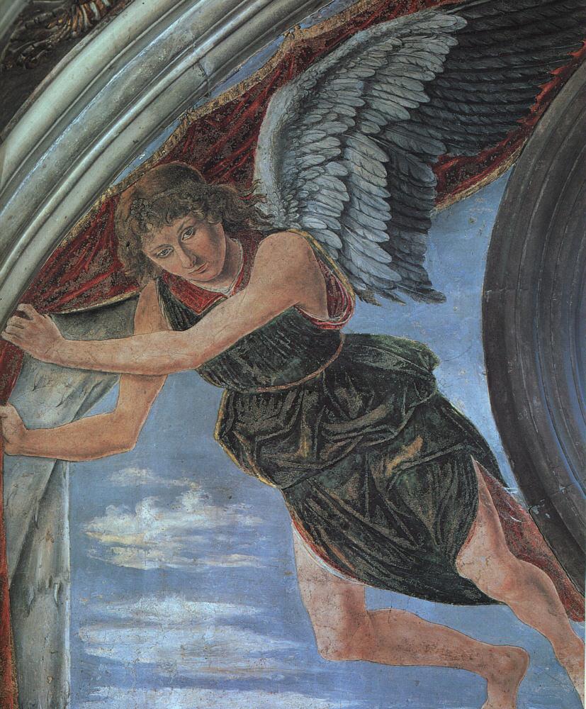 Angel Detail 1467 | Antonio Del Pollaiolo | Oil Painting