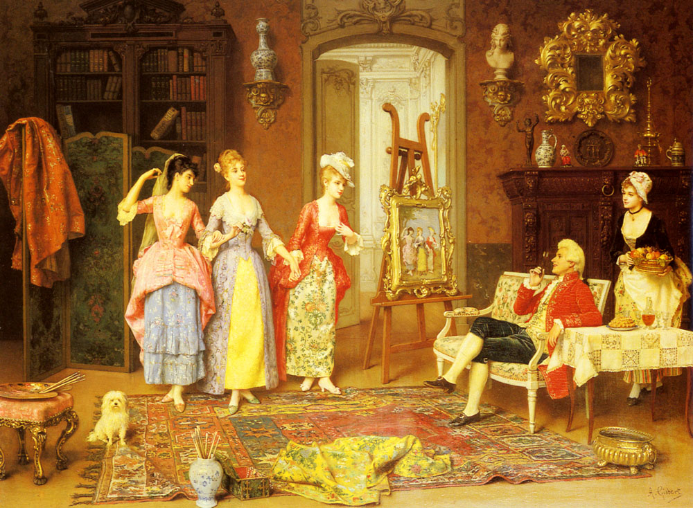 The Three Graces | Antonio Gisbert | Oil Painting