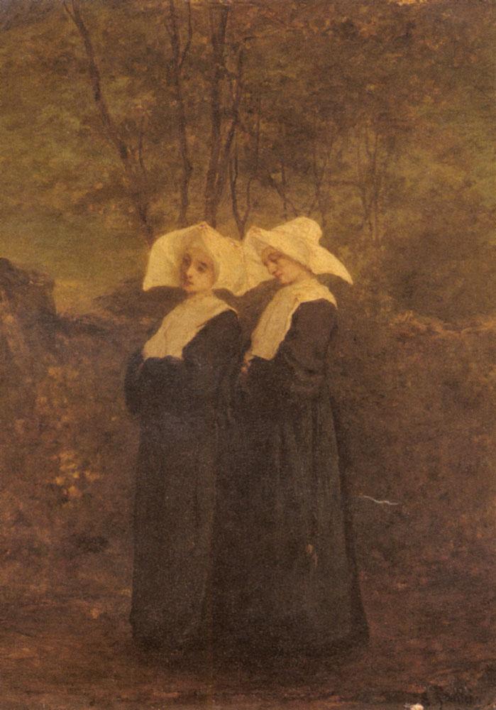 Nuns | Armand Gautier | Oil Painting