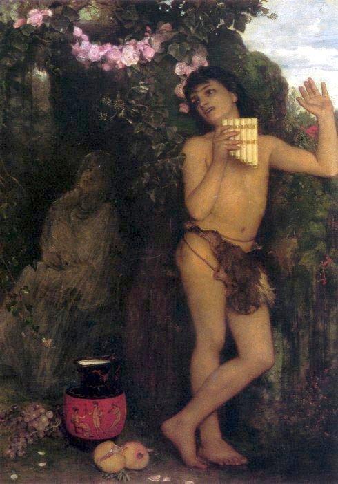 Amaryllis 1866 | Arnold Bocklin | Oil Painting