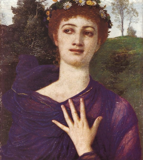 Flora 1875 | Arnold Bocklin | Oil Painting