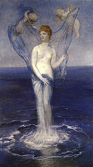 The Birth Of Venus 1868 | Arnold Bocklin | Oil Painting