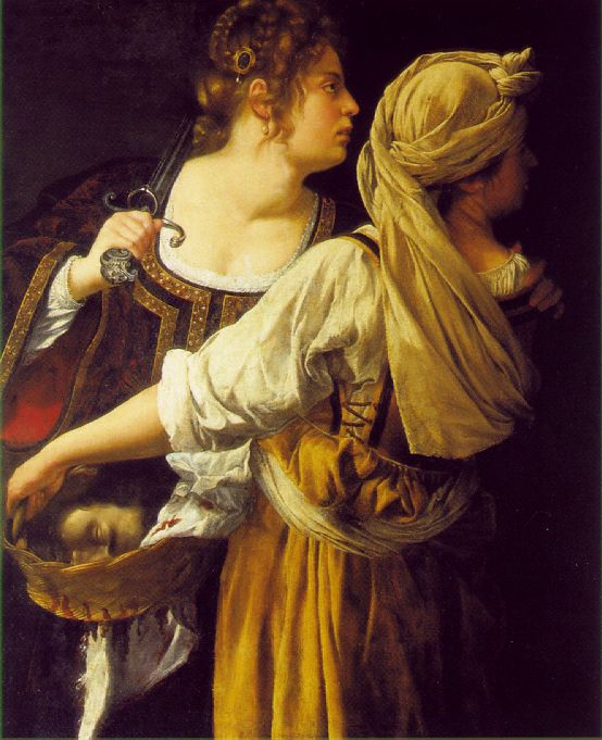 Judith And Her Maidservant 1612-1613 | Artemisi Gentiles | Oil Painting