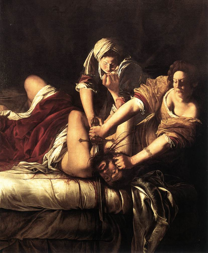 Judith Beheading Holofernes 1612-21 | Artemisi Gentiles | Oil Painting