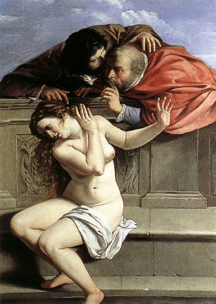 Susanna And The Elders 1610 | Artemisi Gentiles | Oil Painting