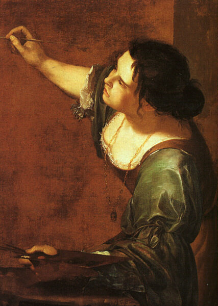 Self-Portrait As The Allegory Of Painting 1630s | Artemisi Gentiles | Oil Painting